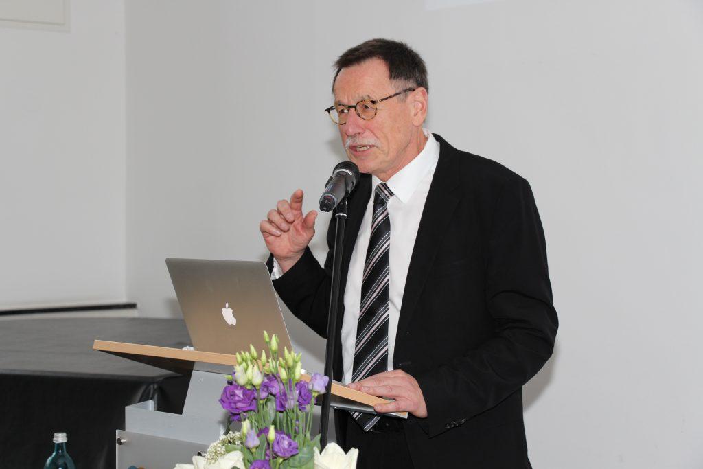Prof. Dr. Dr. Friedrich W. Hesse, Direktor des IWM und Vizepräsident der Leibniz-Gemeinschaft