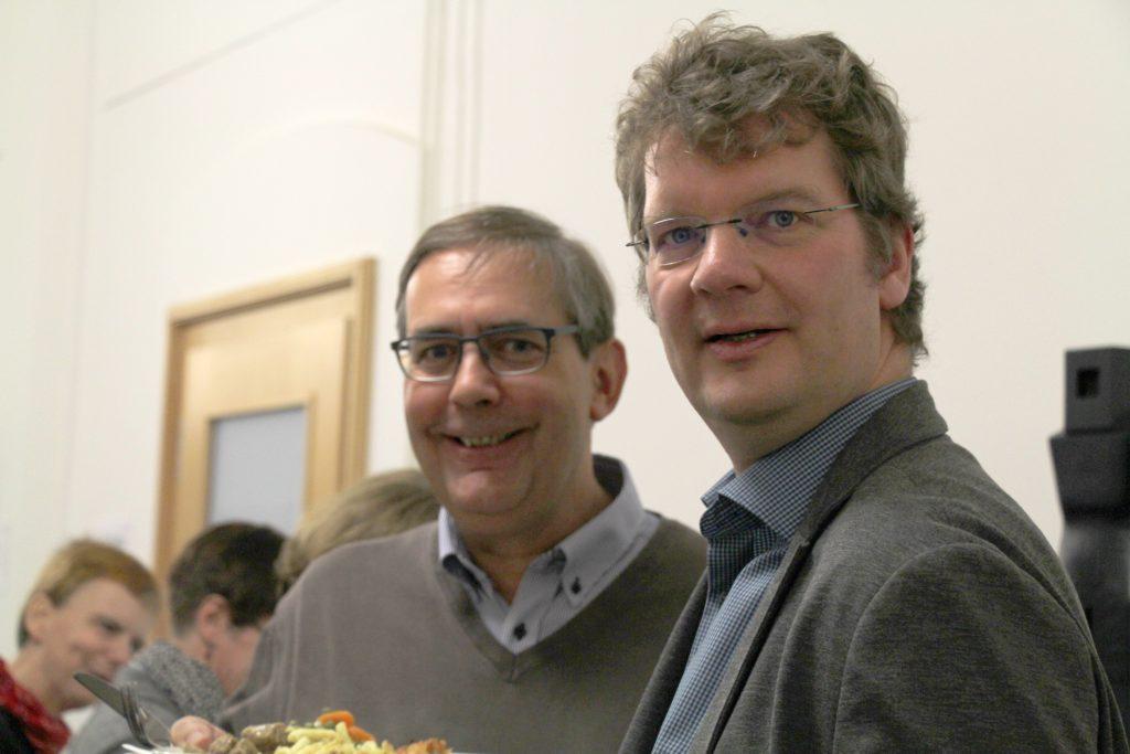 Christian Richter (DBS) und Peter Brandt (DIE)