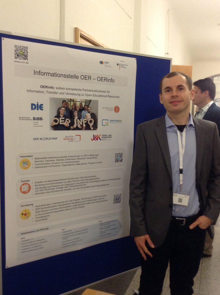 Luca Mollenhauer ist seit Dezember mit Ingo Blees für die Koordination der OER-Infostelle zuständig.