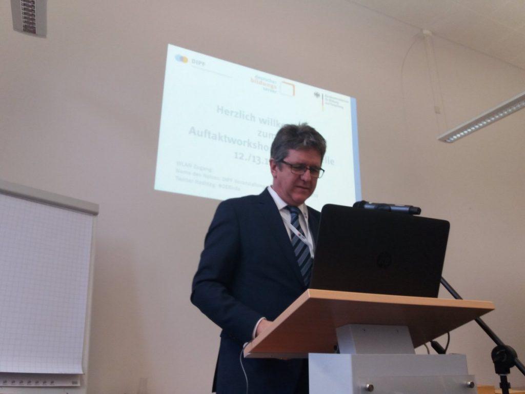 Prof. Dr. Marc Rittberger ist Stellvertretender Geschäftsführender Direktor des DIPF und Direktor des IZ Bildung.