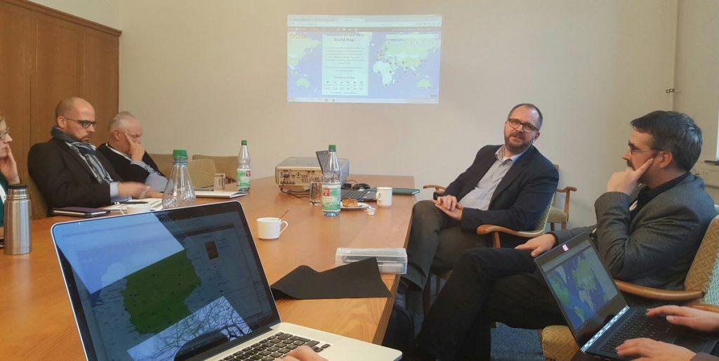 Im Workshop von Jan Neumann vom hbz zu OER-Mapping.