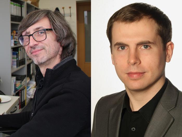 Ingo Blees und Luca Mollenhauer, Informationsstelle OER