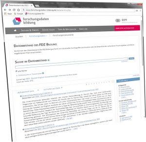 Suche im Datenbestand des FDZ Bildung