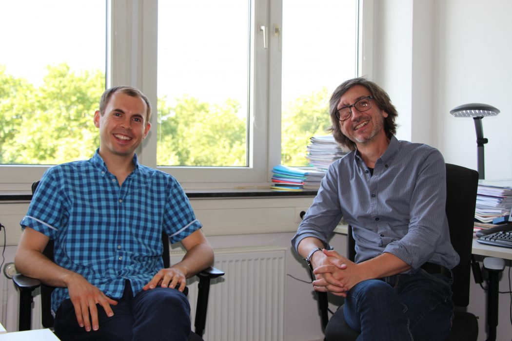Luca und Ingo