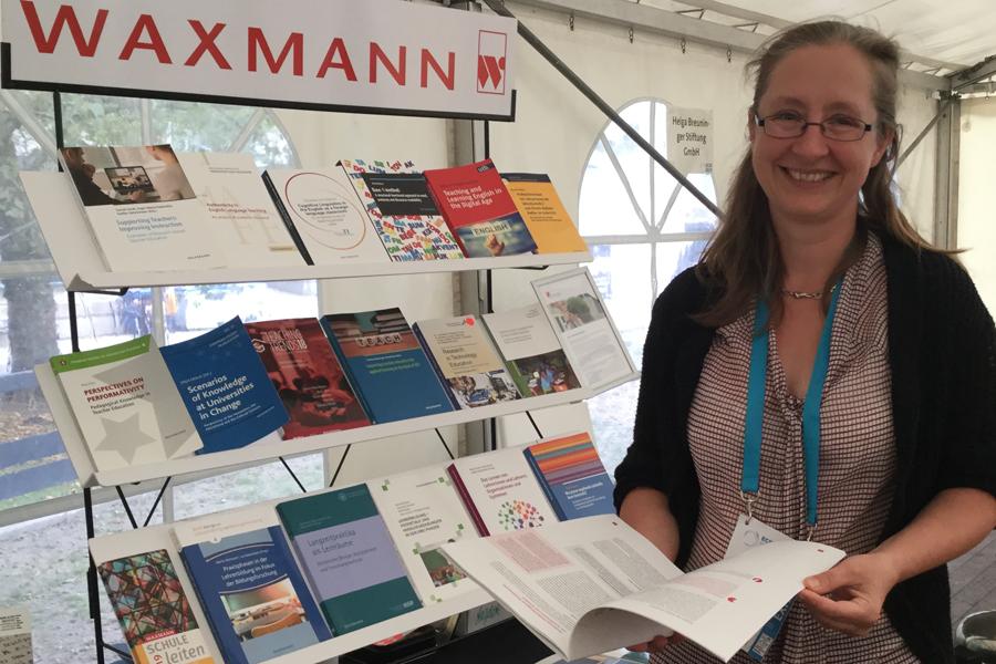 Foto Melanie Völker, Lektorin Waxmann Verlag