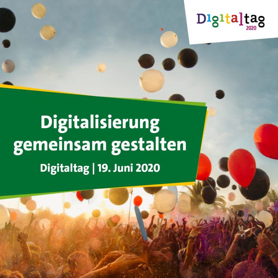 Banner zum Digitaltag 2020 am 19. Juni