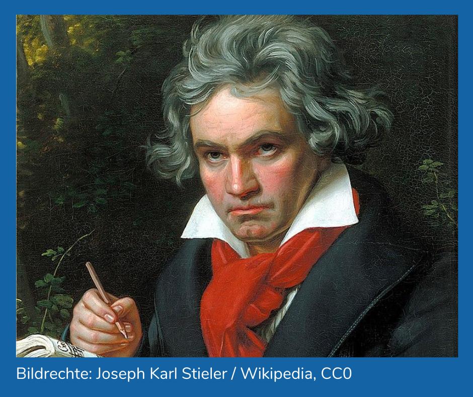 Porträtgemälde Beethoven. Bildrechte: Joseph Karl Stieler / Wikipedia, CC0