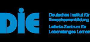 Logo DIE deutsches Institut für Erwachsenenbildung. Leibniz-Zentrum für Lebenslanges Lernen
