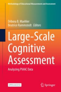 """Bild vom Buch-Cover """"Large-Scale Cognitive Assessment. Analyzing PIAAC-Data"""""""